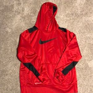 Red Nike sweatshirt, In perfect condition!